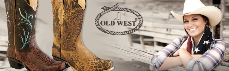 OLD-WEST-western-laarzen-|-Dames