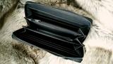 Dames portemonnee met zebraprint - bruin_