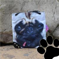 Dames tas / schoudertas klein met hond