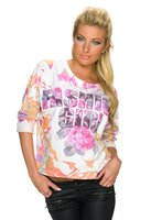 Dames sweater - koraal / roze