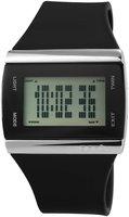 Gooix digitaal horloge met rubberen band - zwart
