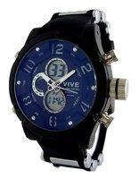Vive analoog / digitaal horloge - zwart
