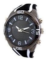 Vive analoog / digitaal horloge - zwart / wit