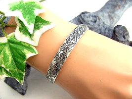 Dames armband / slavenarmband - bladeren