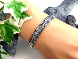 Dames armband / slavenarmband - bloemen