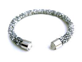Crystaldust dames armband - zilver