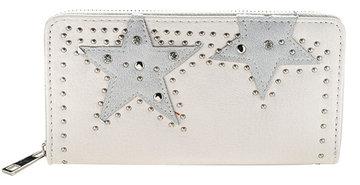 Dames portemonnee met sterren - offwhite