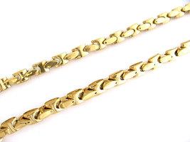 80cm - Koningsketting edelstaal 9mm breed