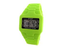 Sport digitaal horloge - lime / groen