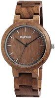 Raptor Watches houten herenhorloge / wood watch - bruin