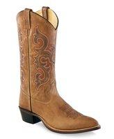 Heren western laarzen / cowboy boots echt leder - tan fry