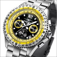 FireFox Chronograph FIGHTER FFS05-108 black / yellow