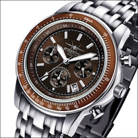 FireFox Chronograph AIRLINER FFS04-106B brown