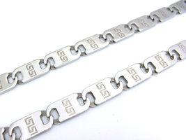 53cm - Ketting staal 10mm breed - keltisch