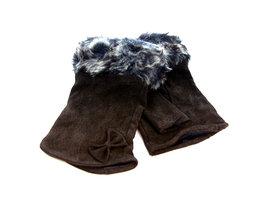 Handschoenen dames echt leder (toploos) - bruin