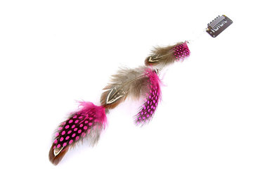 Feather extensions / clip-in featherlocks 20-25cm