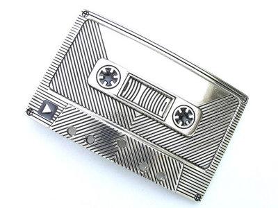 Belt buckle / riemgesp - Cassettebandje