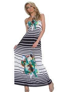 lange streep jurk